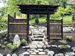 Japanese Wooden Gate